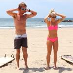 Επτά λεπτά με έναν hot surfer