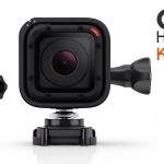 Κερδίστε τη μικρότερη GoPro κάμερα, την εντυπωσιακή GoPro Hero4 Session!
