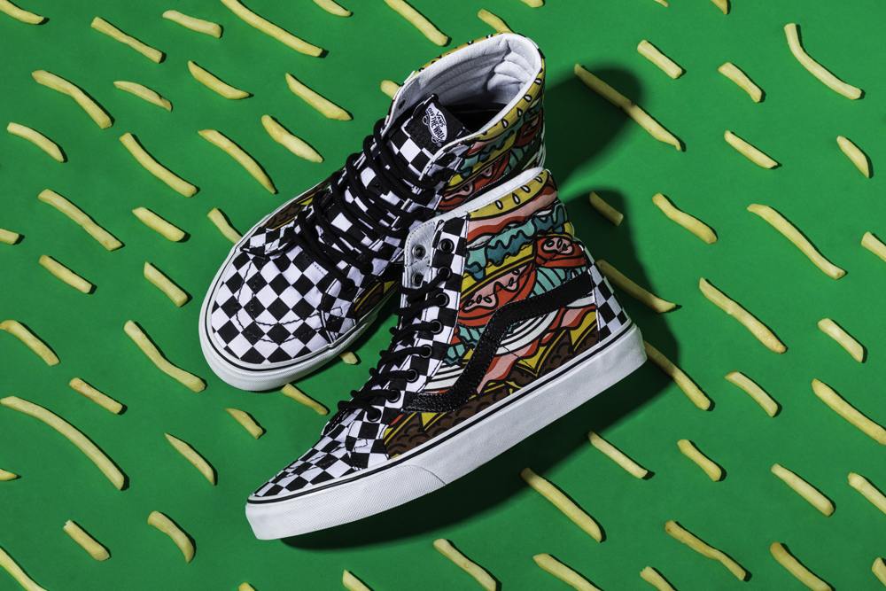 Vans_Late Night Pack_Sk8HiReissue_BurgerCheck