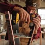 DIY σκαμπό από skateboards!