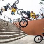 Δες το πρώτο BMX backflip σε σκάλες!